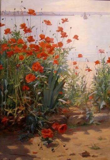 Omiljena slikarska tema Makovi 47387423_georges_binet_ak