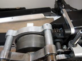 Demontage rapide moteur avec frein sur une Sportline 4WD P1000359