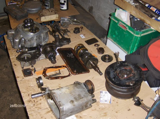 Remise en état de la boîte de vitesses de serie III... HPIM2133