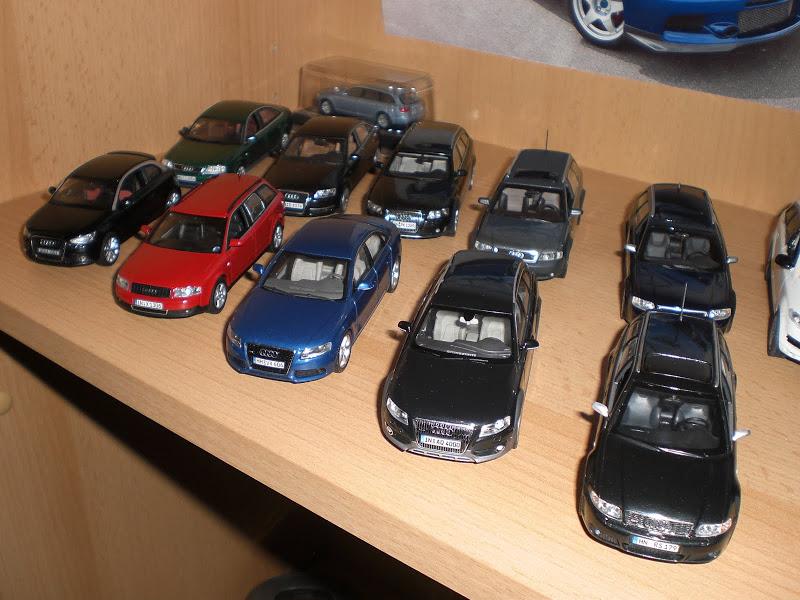 [S] Audi Car models 1:43 CIMG8417
