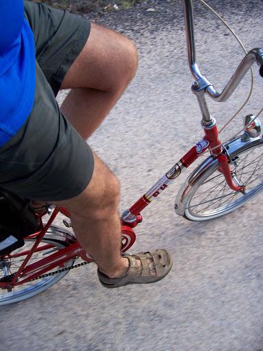 Restaucación de bicicleta BH plegable 20´ 100_3115