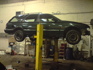 mtomt - Ford Scorpio V6 Turbo (Strip bygge) P190210_09.04