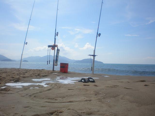 Pesca de Praia  - Massaguaçu - Caragua - 27/03/10 P3270656