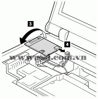 Hướng dẫn tháo lắp LAPTOP IBM™ ThinkPad T IBMp2_3