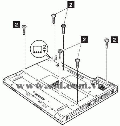 Hướng dẫn tháo lắp LAPTOP IBM™ ThinkPad T IBMp2_10