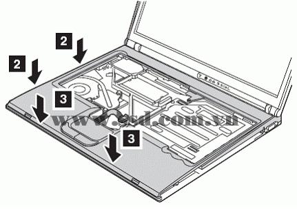 Hướng dẫn tháo lắp LAPTOP IBM™ ThinkPad T IBMp2_14