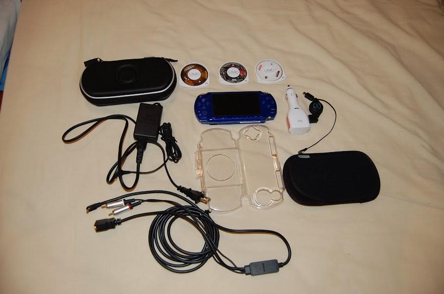 [Vendo] PSP Azul 2001 Completo Blue1