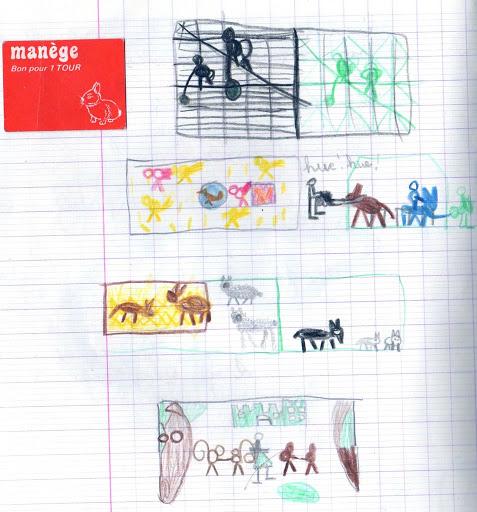En voyage avec les dessins d'enfants Paris003