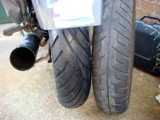 Tyres Avon-fitted