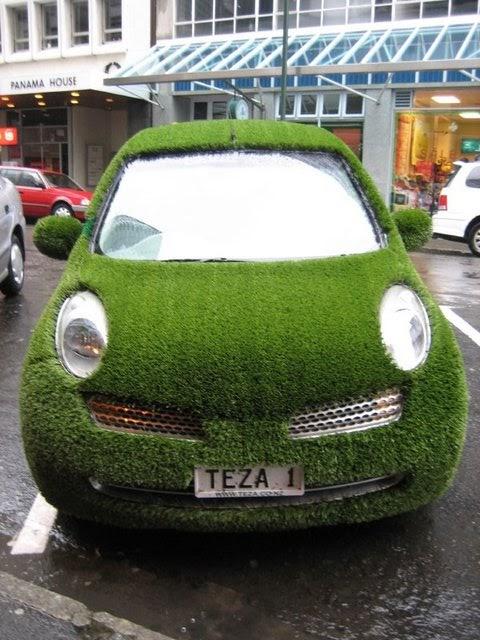 coches curiosos... - Página 2 Grass-car