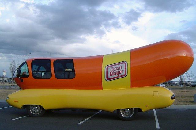 coches curiosos... - Página 2 Hot-dog-car
