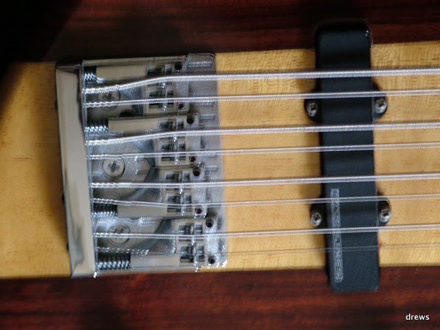 Baixo de oito cordas com braço da Moses DSCF2099