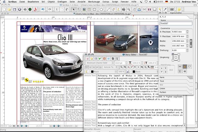 Scribus: programa creación de publicaciones en ordenador Scribus1