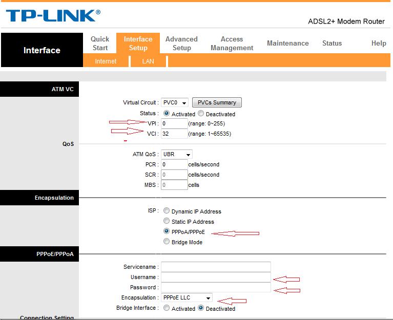 [Quản trị mạng] hướng dẫn các bạn Cài Đặt Dịch Vụ ADSL Của VNPT modem TP-Link 8817 PVC0