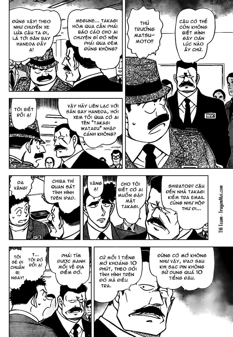 Conan Chap 805: Anh Em Nhà Wataru    06