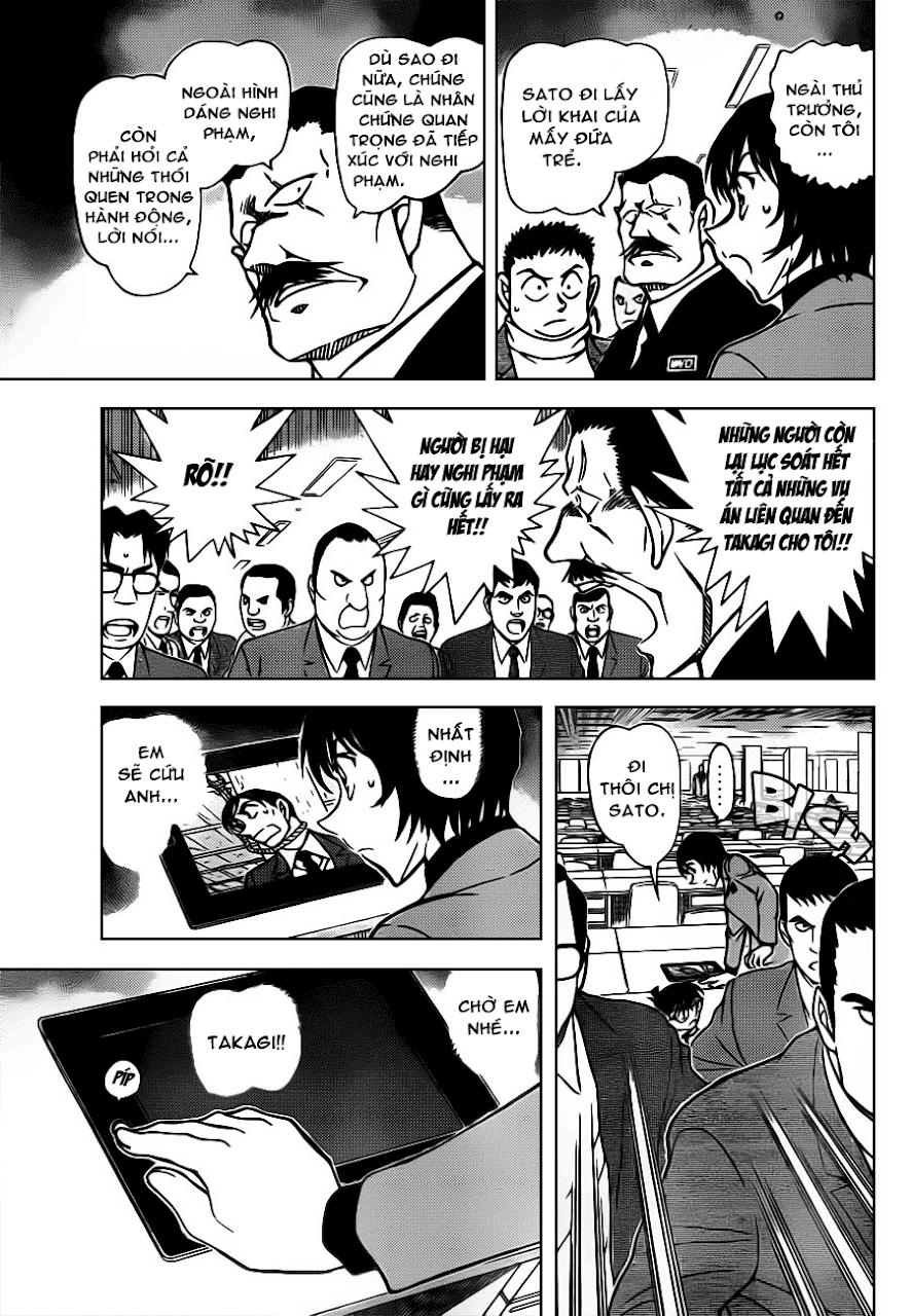 Conan Chap 805: Anh Em Nhà Wataru    07