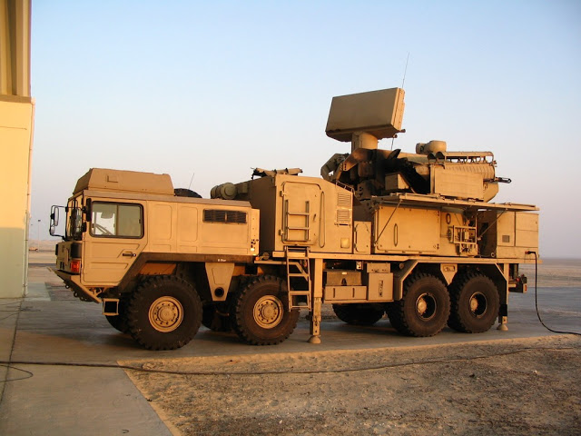 Sistema antiaéreo Pantsir-S. Manwithpantsirs1ecb0