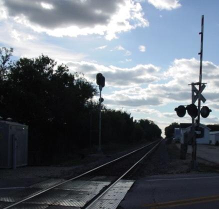 Down The Tracks MISCtrainBurlingtonWlooking