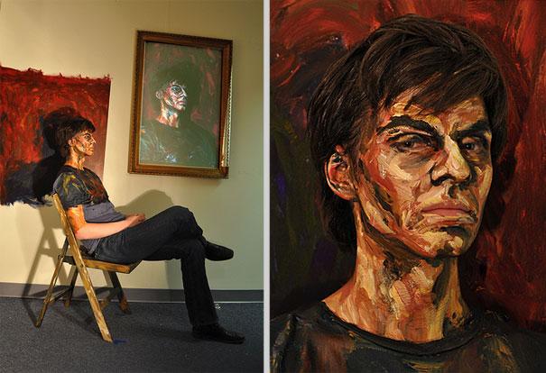 Alexa Meade Fake-Paintings-will