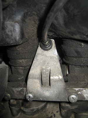 Installing K1100 front Brakes on a  non-ABS K100RT 068