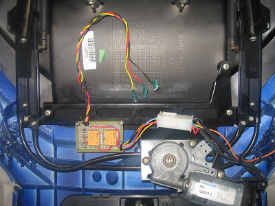 Mounting an electric windshiel on a K100rt 009%20%282%29