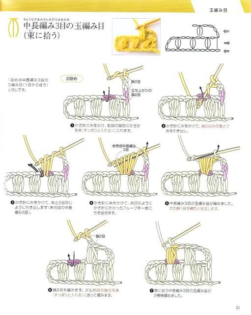 Những mũi MÓC (1) Crochet18