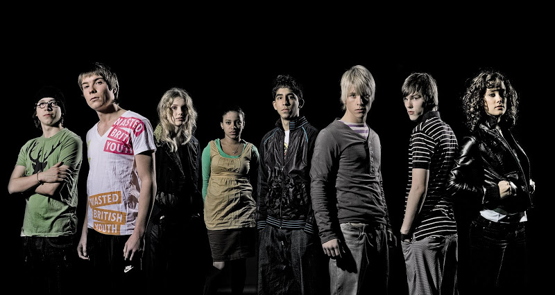 Skins on BBC SKINS%202%20launch%20cast%20photo