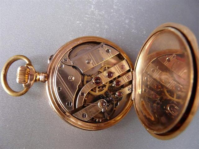 comment identifier un calibre de montre gousset ? MVT2