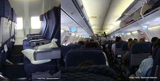 Voando na Copa Airlines, Executiva e Econômica. O Que Esperar? Interior-copa-airlines
