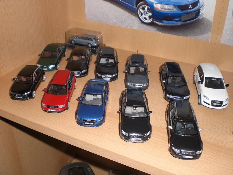 [S] Audi Car models 1:43 CIMG8416