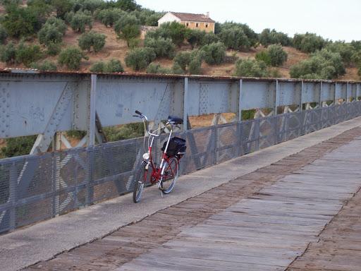 Restaucación de bicicleta BH plegable 20´ 100_3111