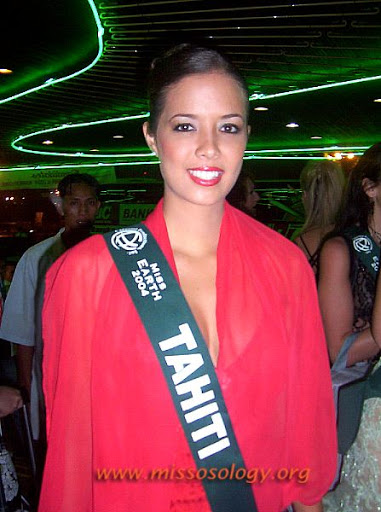 Stéphanie Lesage - Miss Earth 2004 Water from Tahiti St%C3%A9phanie%20Lesage
