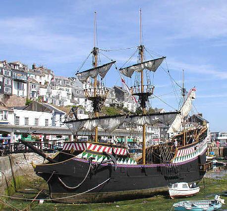 "Nome que carrega muita história, ""Jolly Roger"" ... Francis%20Drake%20Ship"