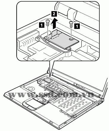 Hướng dẫn tháo lắp LAPTOP IBM™ ThinkPad T IBMp2_2