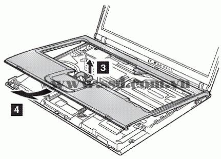Hướng dẫn tháo lắp LAPTOP IBM™ ThinkPad T IBMp2_11