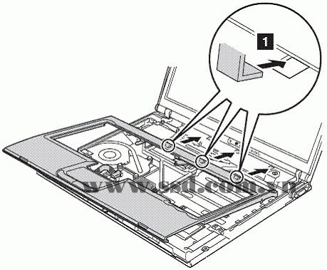 Hướng dẫn tháo lắp LAPTOP IBM™ ThinkPad T IBMp2_12