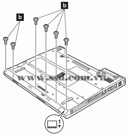 Hướng dẫn tháo lắp LAPTOP IBM™ ThinkPad T IBMp2_16