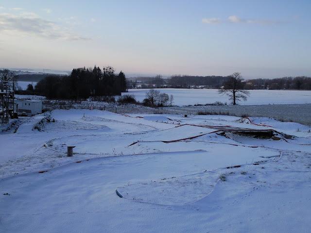 Le circuit sous la neige le 19.12.2009 Photo0859