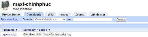 »[FM] Hướng dẫn chi tiết Upload File Javascript lên Google Code [hot] 14