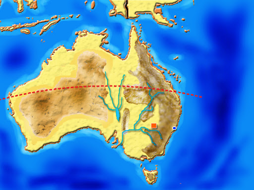 خرائط قارة استراليا G2M_0068