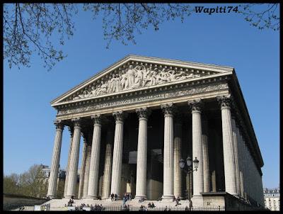 Une semaine printannière à Paris 13.Madeleine