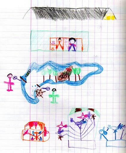 En voyage avec les dessins d'enfants Paris002
