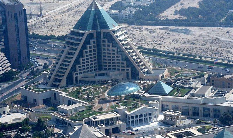 Najviši hoteli na svetu 39.%20Wafi%20City