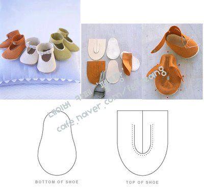 خياطة احذية للاطفال رائعة جدا Sapatinhos1