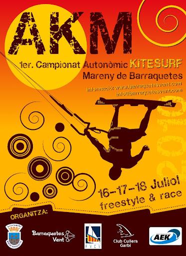 Cartell anunciador AKM Diptic2010