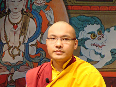 Extrait d'enseignement: Le Coeur du Bouddhisme par SS le 17ème Karmapa DSC00445