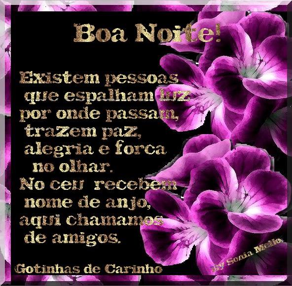 Boa Noite!!!  ROXA