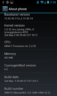 [NAND/NATIVESD][25.05.2013][ICS - CM9 NexusHD2-ICS-4.0.4-HWA V3.0b [Topic7]  NexusHD2-ICS-CM9-HWA_V2.0_(Android-4.0.4)_06
