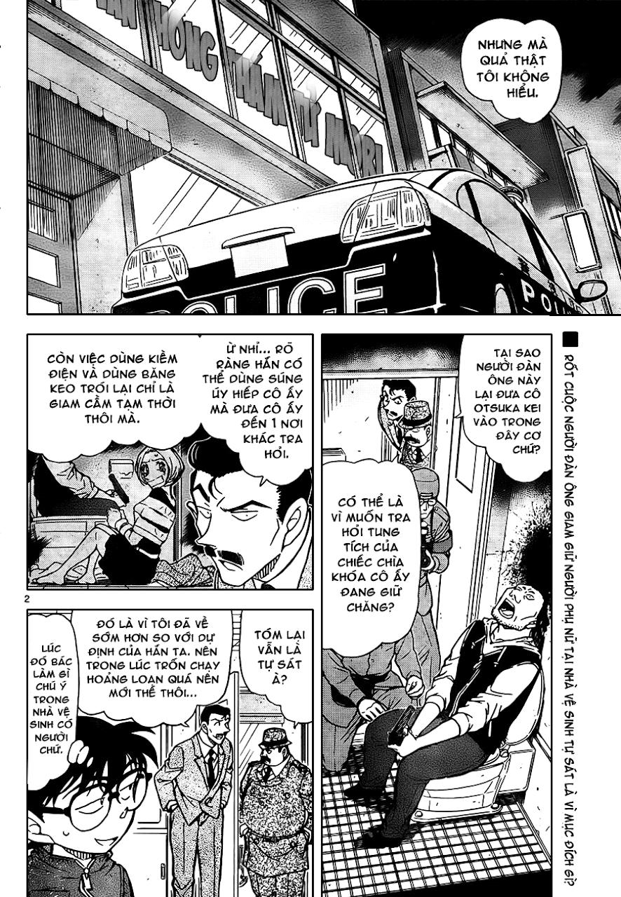 Conan Chap 797: Lời Nói Dối Và Điều Bí Ẩn Khó Chia Cắt 02