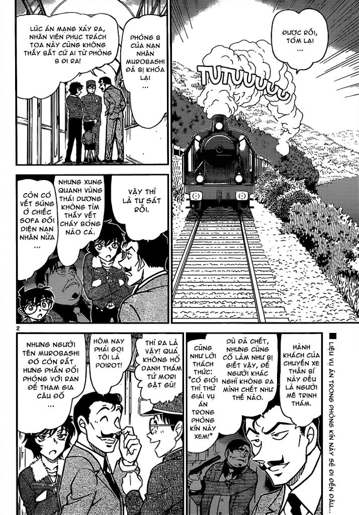 Conan Chap 821: Xe Lửa Thần Bí: Giao Điểm 02